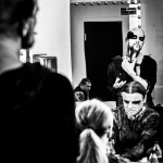 Behemoth, make up, backstage, Nergal