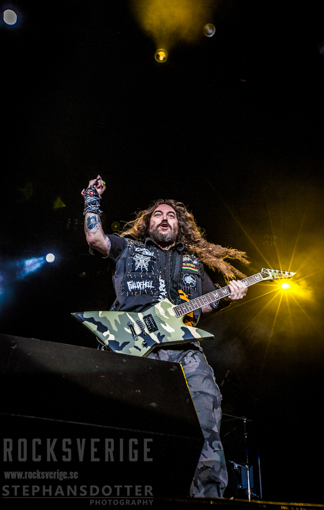 Max Cavalera live at Metal All Stars