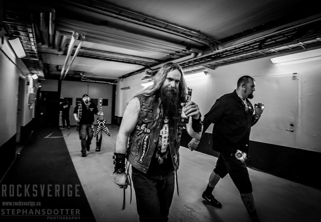 Zakk Wylde backstage