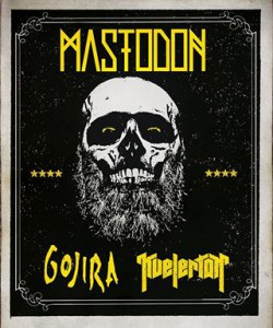 Mastodon Gojira Kvelertak