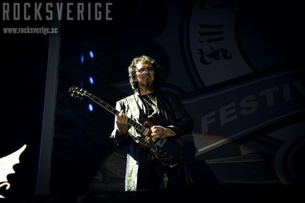 Tony Iommi, SRF 2014. Foto: Jennie Nord