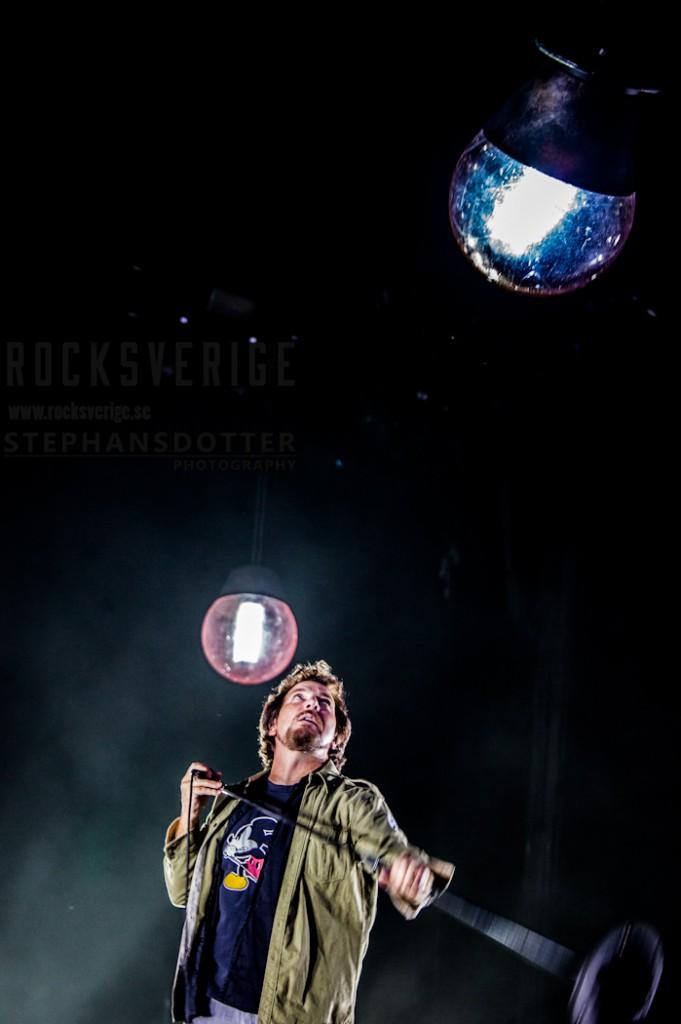 Pearl Jam, Friends Arena, Stockholm