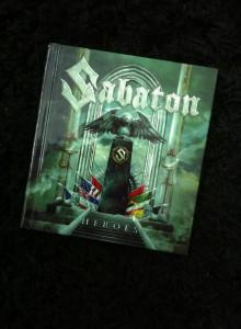 Sabaton signed 2