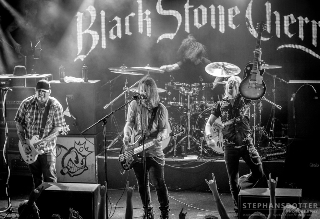 Black Stone Cherry, photo: Therés Stephansdotter