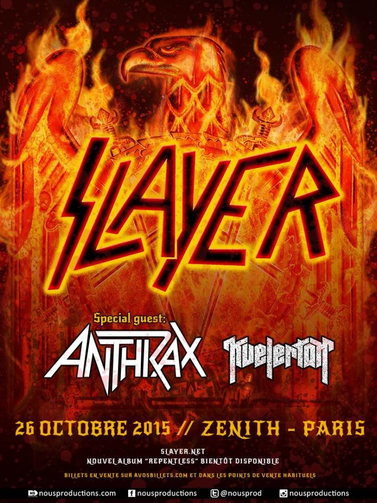 Kvelertak opening for Slayer