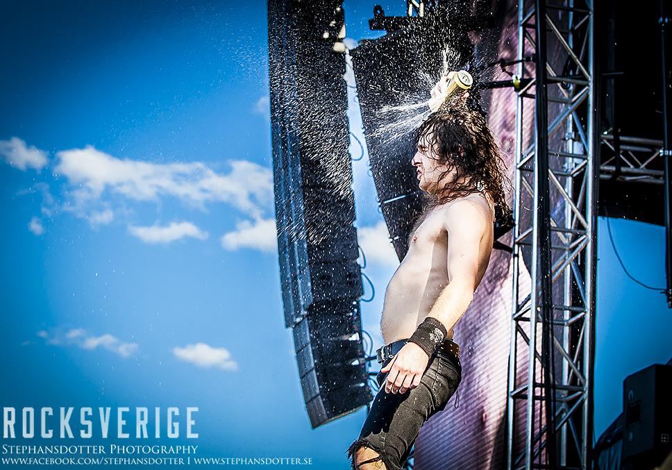 Airbourne, Sweden Rock Festival