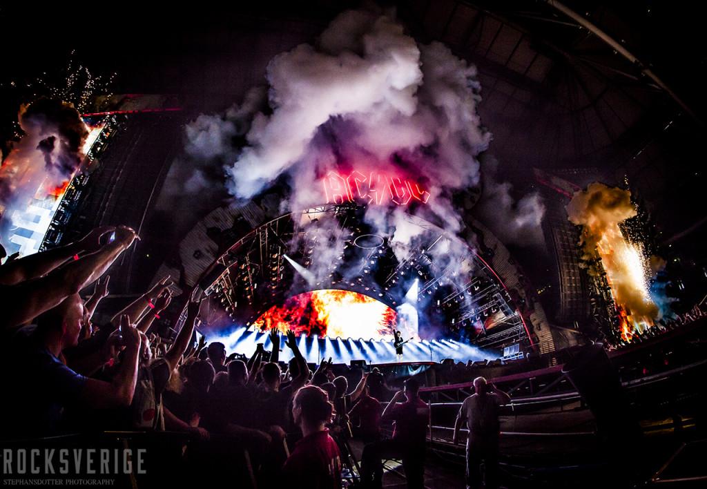 AC/DC. Friends Arena