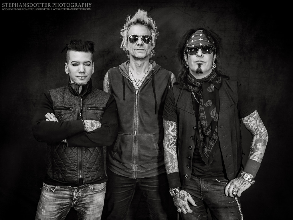 Sixx:A.M. by Stephansdotter Photography