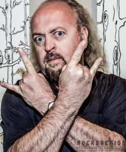 Bill Bailey metal sign