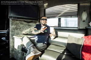 Zoltan Five Finger Death Punch tour bus