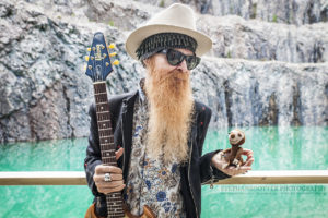 Billy Gibbons och Ragnar.