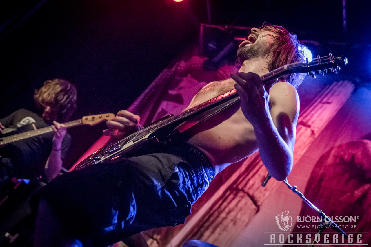 Truckfighters, Mejeriet, Lund 20170302