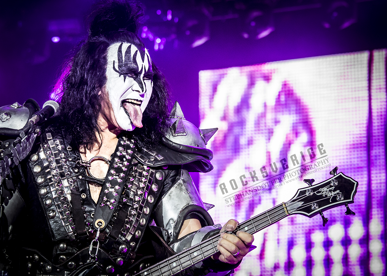 Kiss, Scandinavium 20170510